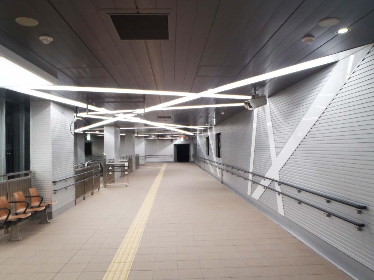 仙台市地下鉄六丁の目駅舎